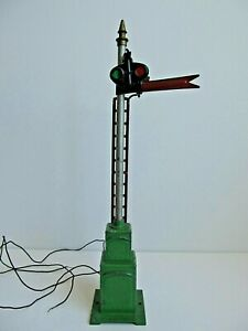 Lionel No. 82 Standard Gage Semaphore Signal Untested  Sold AS IS