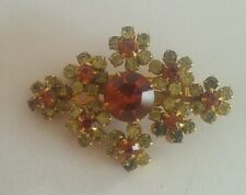 Rhinestone without Theme Vintage Costume Brooches/Pins