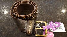 "Billabong Philippa Leather Womens Belt. 1 Size 26""-36"". Brand New! RRP£35"
