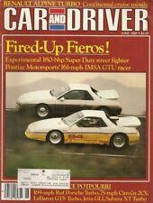 CAR & DRIVER 1985 JUNE - MORGAN, VIP TR350, ALPINE GTA*