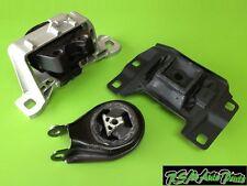 New Mazda 3 2.0L 04-09 Engine Motor Mount Set 3pcs