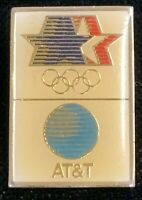 Rare Vintage 1980 LAOC 1984 Los Angles Olympics AT&T Advertising Pin! WPIN126
