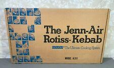 Jenn-Air Rotis-Kebob Model A311 Cooktop Accessory New In Original Box w/ Manual