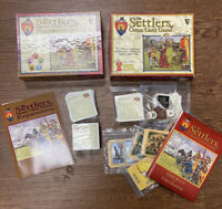 The Settlers of Catan Card Game #485 & Expansion #487 Mayfair 100% Complete