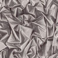 3D Vinyl Wallpaper Crushed Fabric Effect Glitter Sparkle Silver Grey Black