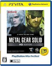 METAL GEAR SOLID HD EDITION Best PS Vita Konami Sony Plalystation Vita Japan