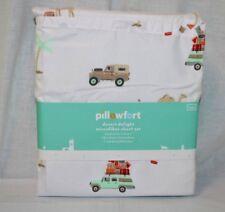 Traveler Printed Sheet Set TWIN SIZE - Pillowfort BRAND NEW! (097-02-3443)