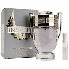 Paco Rabanne Perfume Invictus Eau De Toilette Mens Fragrance Parfum 100ml 3.4oz