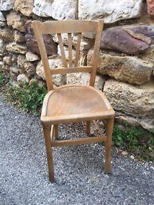 Ancienne chaise En Bois de type bistrot