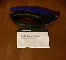 Tupperware Garlic Wonder Gadget Press - Black & Blue Rare  *Never Used*