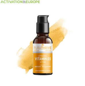 PuraTHRIVE™ Liposomol D3 with K2 (MK7) 2FL. OZ / 60ml. Sunshine Vitamin