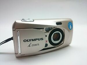 Olympus I Zoom 75 Quartzdate All Weather 35mm Compact film Camera