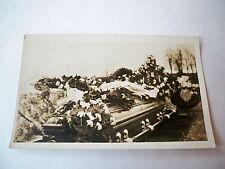 Vintage Photo Postcard Funeral Casket Unusual Post Mortem AZO
