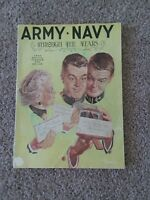 1962 Army Navy Football Game Program Booklet (Note From JFK)