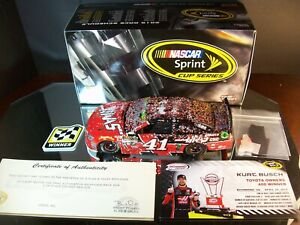 Kurt Busch #41 Haas Automation Richmond Raced Win Autographed 2015 Chevrolet SS