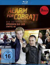 ALARM FÜR COBRA 11-STAFFEL 40 BD  3 BLU-RAY NEW