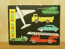 DINKY TOYS CATALOGUE - 1961 USA EDITION - EXC