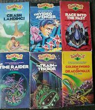 Twistaplot 6 Book Lot 1 2 4 6 7 8 Stine Choose Your Own Adventure CYOA OOP Rare!