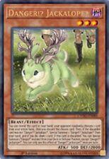 YuGiOh Danger Jackalope Custom Card Orica Proxy
