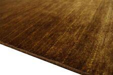 Teppich Gabbeh Pakistan fein Loribaft 250x350 cm Handgeknüpft 100% Wolle Tabak