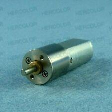 12V DC 1000RPM Torque Gear Box Motor New Diameter 16mm