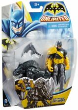BATMAN UNLIMITED Batman 10 cm con Rinoceronte Sfondatutto - Mattel cdv94