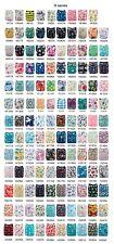 20PCS ALVA Baby Cloth Nappies Printing Adjustable Reusable Pocket Diapers 3-15kg
