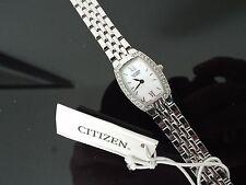 Citizen Stainless Steel Case Luxury Wristwatches