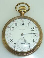 1902 Waltham Vanguard Railroad Pocket Watch 21 jewels Size 18 ~6175~