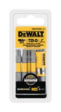 Dewalt Maxfit Torx T25 X 2 In. L Power Bit And Sleeve Set S2 Tool Steel 12 Pc.