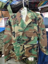 SEAL TACTICAL WOODLAND DESERT STORM Shirt/ Coat SMALL X SHORT  TEAM MEMBER SXS