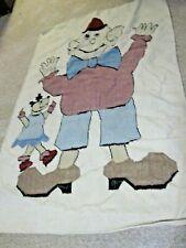 MAN & DOG LARGE FLOOR RUG / CHILDREN'S PLAY RUG