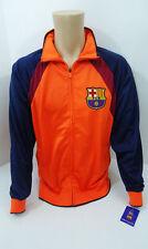 FC Barcelona Orange Soccer Jacket Medium New M FCB