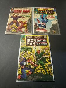 Tales of Suspense 3 issue lot. #s 80, 96, & 97 Classic cover. Iron Man.