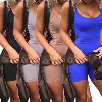 Women Jumpsuit Romper Bodycon Playsuit Clubwear Short Party US Pants Trousers