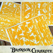 Grave Digger Camo Stencils    High Heat Vinyl   Rifle Gun Firearm   Cerakote
