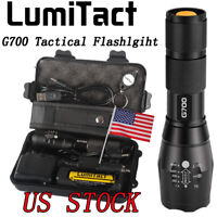 Genuine 20000lm Lumitact G700 CREE L2 LED Tactical Flashlight Military Torch NEW