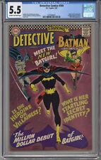 DETECTIVE COMICS #359 CGC 5.5 F- CR/OW 1st Batgirl Hi-ReZ Scan FREE SHIPPING