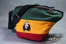 Rasta Bob Marley Waist Bag Reggae Jamica Fanny Pack Bag Adjustable Belt