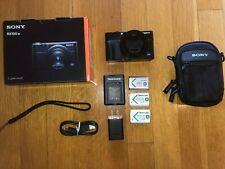 Sony RX100 VII - BLACK. VERY LIGHT USE. GREAT CONDITION! ALL ACCESSORIES + GRIP
