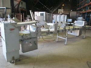 MOLINE 120 DONUT BISCUIT PRODUCTION SHEETER TABLE BAKERY COMMERCIAL DOUGHNUT