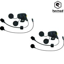 Sena SMH5 FM Dual Bluetooth Intercom Motorcycle Helmet Kit - Universal - X2