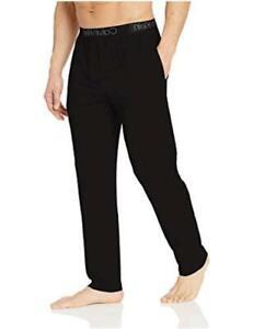 Calvin Klein Men's Ultra Soft Modal Pants, Black, S, Black, Size Small Si7I