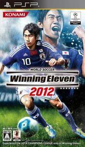 PSP / Playstation Portable - World Soccer Winning Eleven 2012 JAPAN only UMD