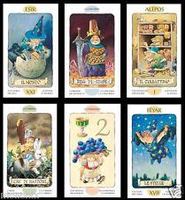 NEU!! TAROT DER ZWERGE 78 Tarotkarten Feen Elfen Zauberer Elben Zwerge Tarotdeck