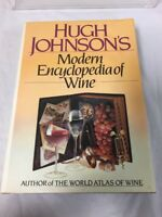 Hugh Johnson's Modern Encyclopedia of Wine (1987, Hardcover) coffee table book