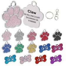 Personalized Dog Tags Engraved dog Pet ID Name Collar Tag Pendant PetAccessories