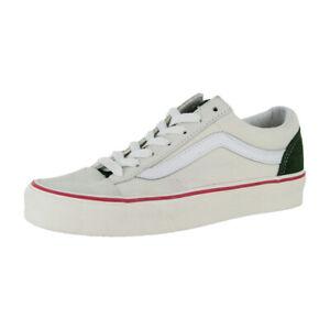 "Vans ""Retro Sport Style 36"" Sneakers (Marshmallow/Kombu Green) Skate Shoes"