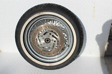 99-07 HARLEY-DAVIDSON SOFTAIL REAR BACK WHEEL RIM ROTOR TIRE 43014-05B