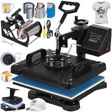 "8in1 Heat Press 12""x15"" Transfer Printing Machine Printer T-Shirt Sublimation"